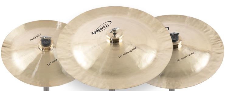 Agazarian China Cymbals